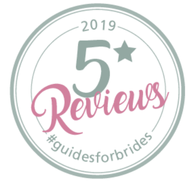 2019 5 star reviews guides for brides pink confetti